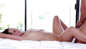 Perfect slut gets her boobs sucked off