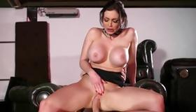 Gorgeous whore is drilled naughty with cock