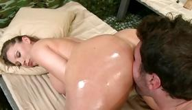 Precious beauty is getting her hardcore drilled