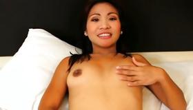 Perfect young whore is drilled with meaty penis